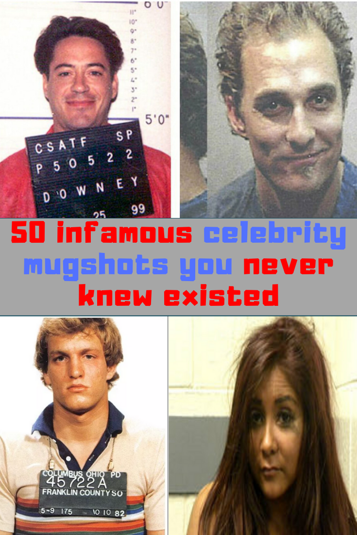 Photo of 50 infamous celebrity mugshots you never even knew existed