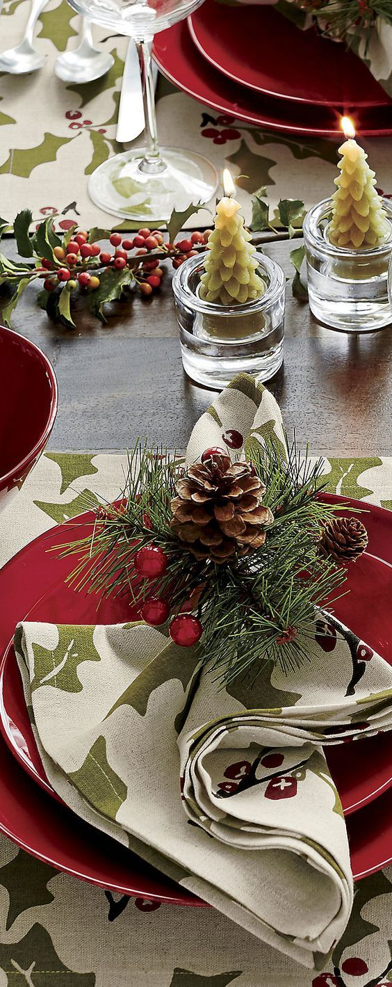 Marin Red Dinnerware - Christmas Table & Marin Red Dinnerware - Christmas Table | Christmas ideas | Pinterest ...
