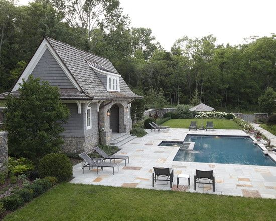 Pin By Monique Swyer On Pool House Pool House Designs Pool Houses Small Pool Houses