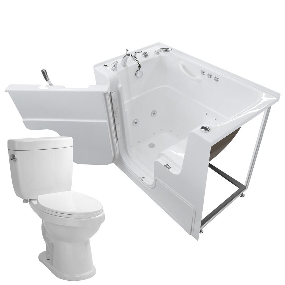 Universal Tubs Wheelchair Accessible 53 In Walk In Whirlpool And