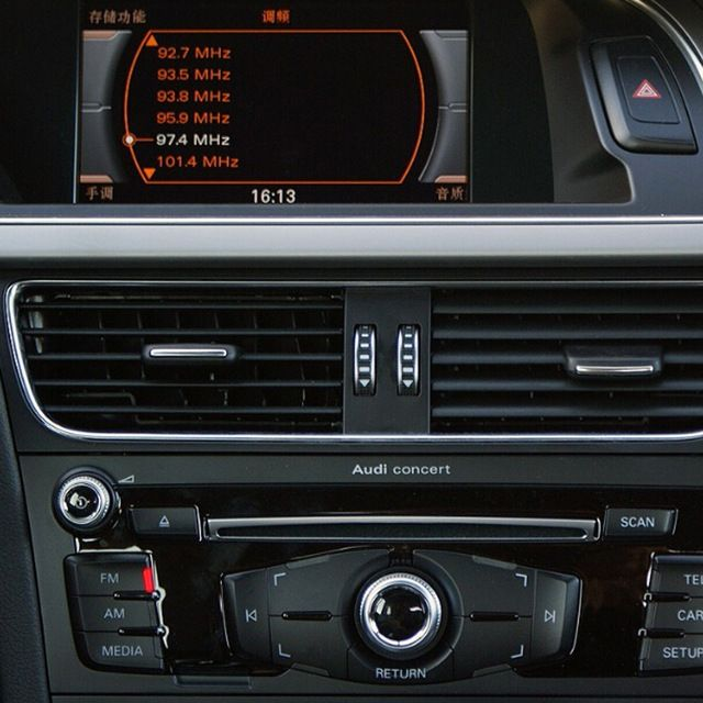 Insert Rear Camera And Front Camera Interface For 2008 Audi A4 B8