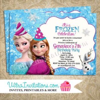 Disney frozen birthday invite 6 maddies 3rd birthday party disney frozen birthday invite 6 filmwisefo