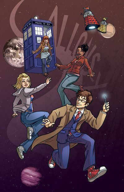 The Doctors & Their Companions