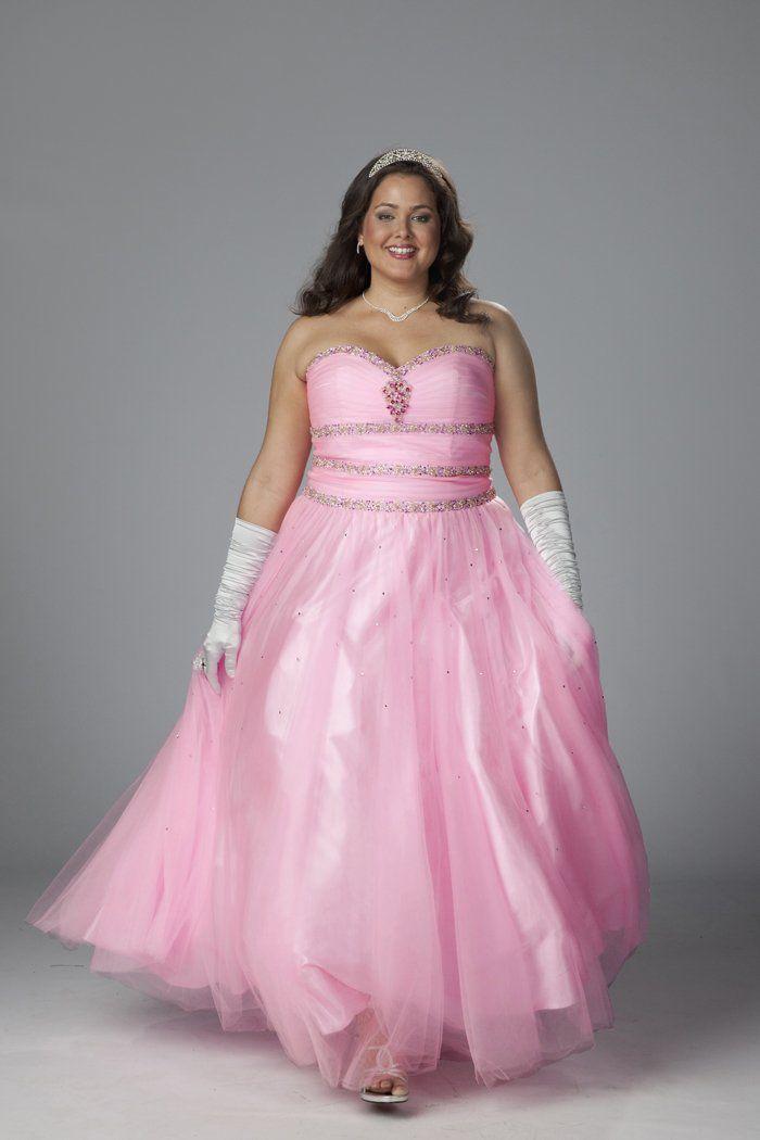 cutethickgirls.com pink plus size dresses 16 #plussizedresses   Plus ...
