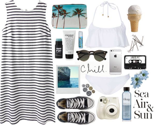 Chill In Paradise par fashionispurebliss utilisant bikini licol