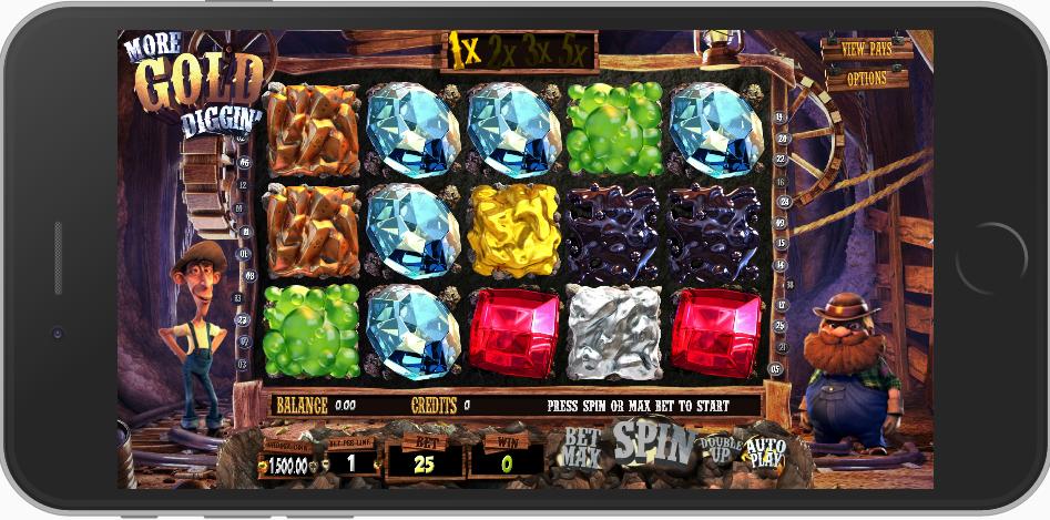 GAME SLOT VERSIMOBILE DEWACASINO MORE GOLD DIGIIN | Slots