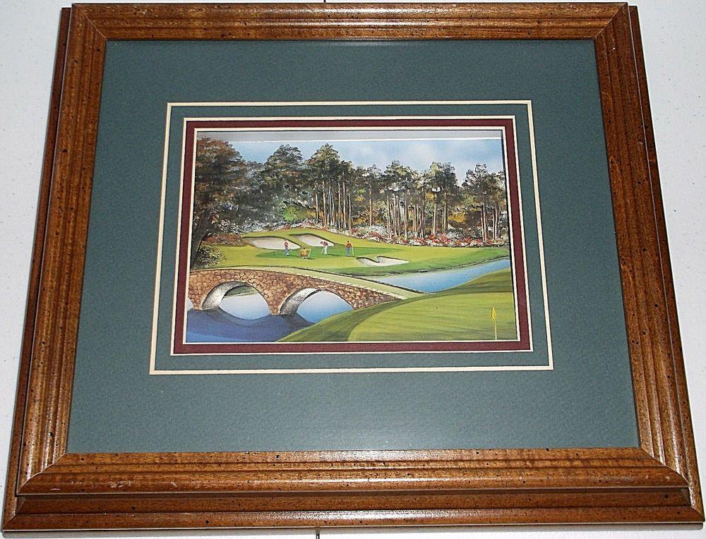 Augusta National Golf Club 12 Masters Layered Paper 3d Wall Art 3d Wall Art Wall Art Augusta National Golf Club