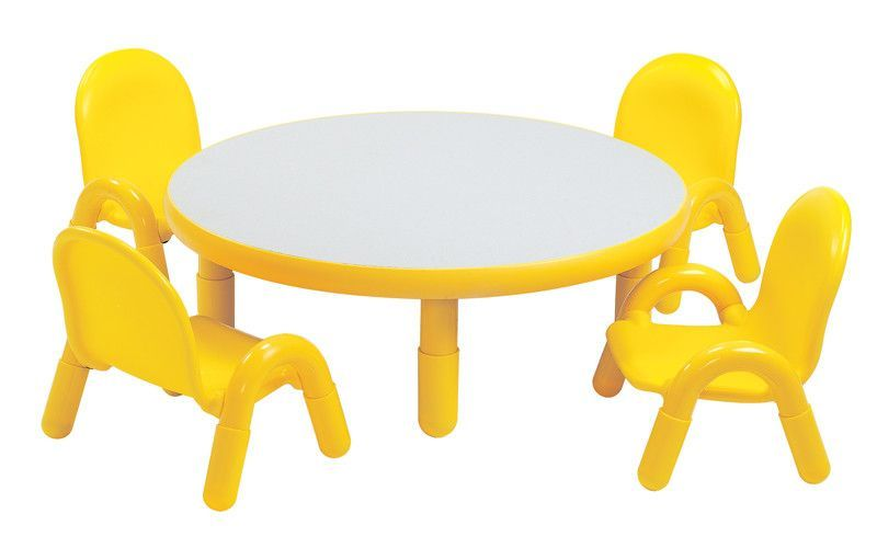2625 Angeles Baseline Table Round 36 Dia Height 12 Toddler