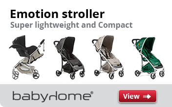 Emotion Stroller.  Super Lightweight and Compact stroller now avaialble in stores.