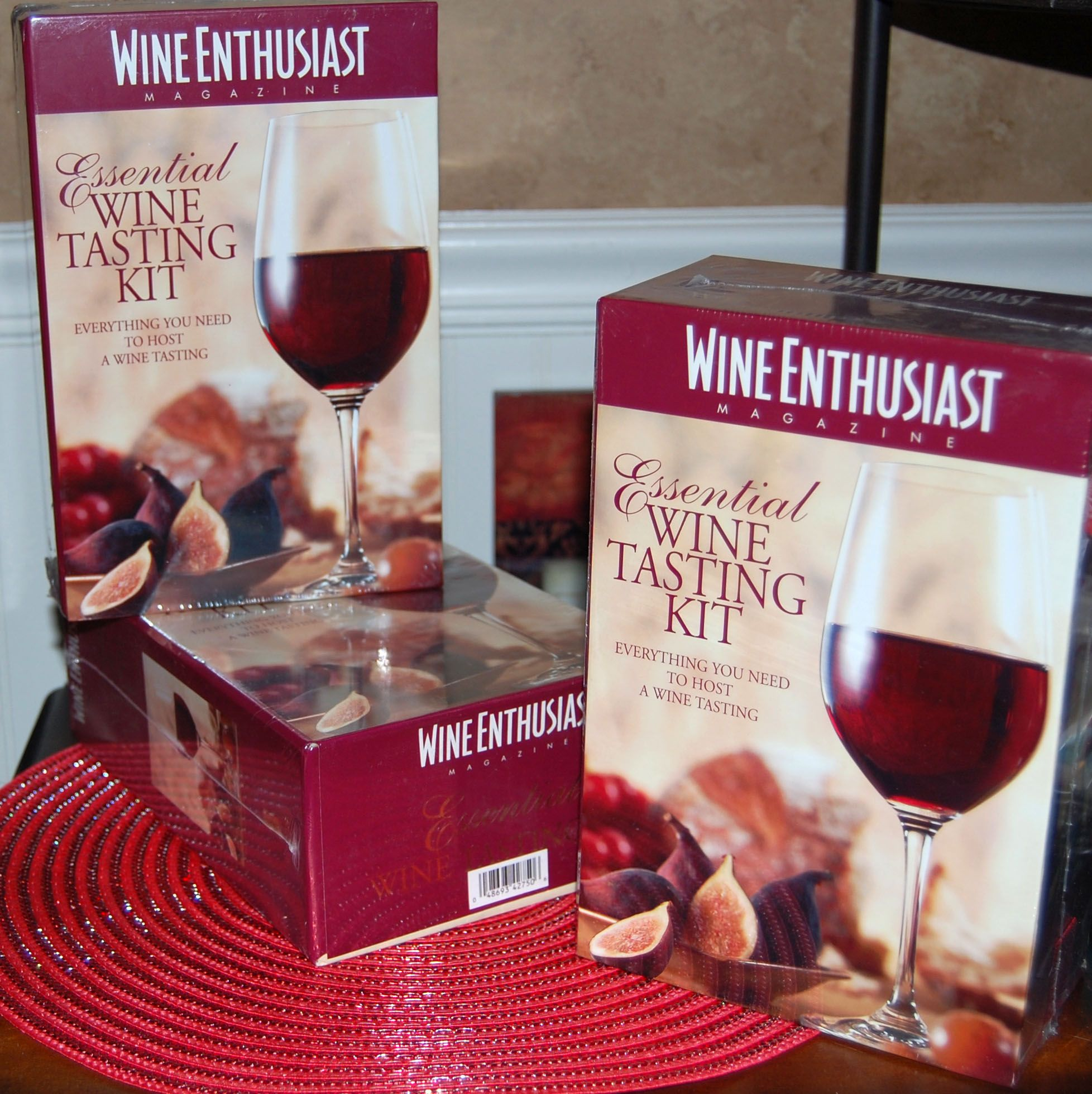 Wine Tasting Kits For Home Parties At This That Gifts Frankfort Il Wine Tasting Kit Wine Tasting Wine Enthusiast