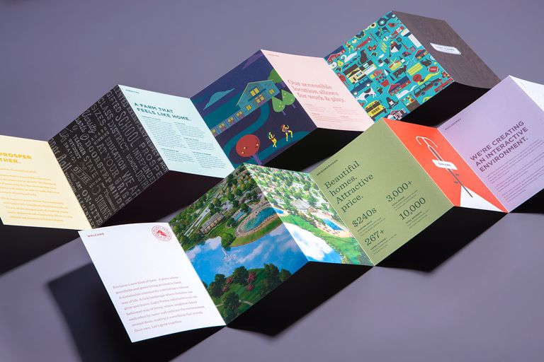 Light Farms Identity  |  Parse & Parcel – Delivering Paper Inspiration | The essential resource for print and paper inspiration. Discover beautiful papers and inspiring print design through expertly curated collections of paper samples.