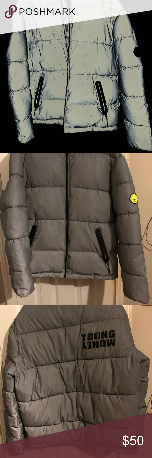 American Eagle Aex Young Money 3m Jacket American Eagle Jackets Young Money [ 1740 x 580 Pixel ]