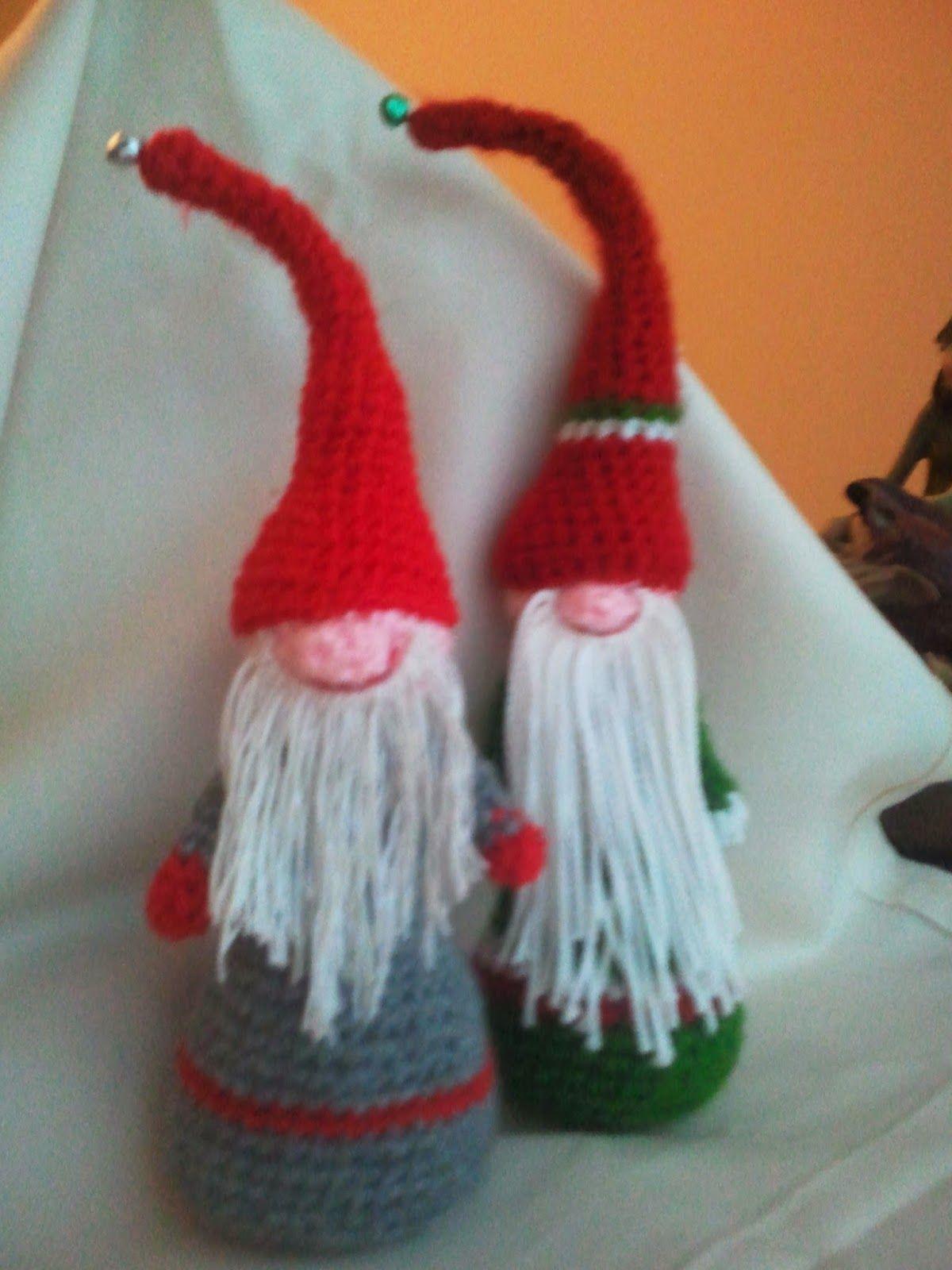 Duendes navideños Blog amigurumis y crochet. | Ganchillo ...