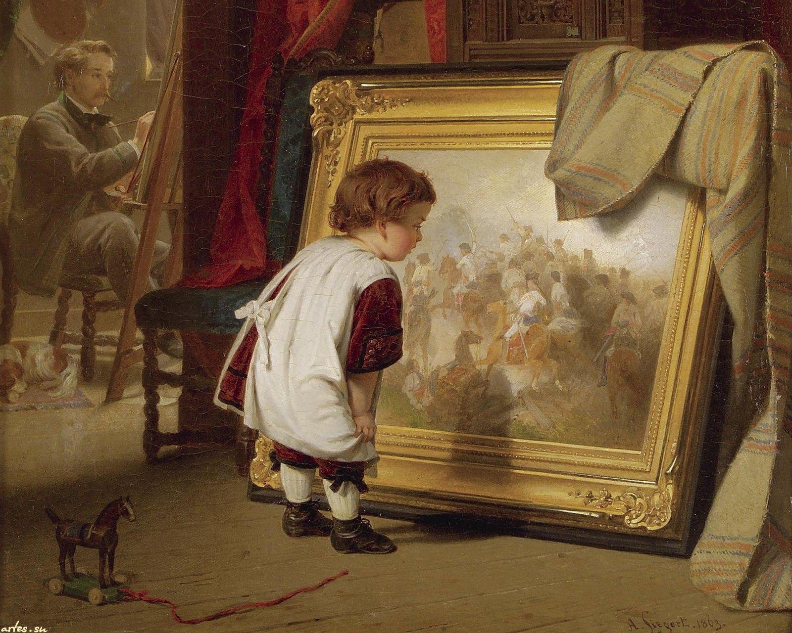 Descarga niños papel pintado, pequeño conocedor pintura, agosto ...