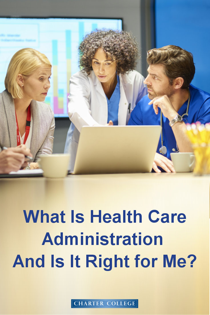 Health care administration career