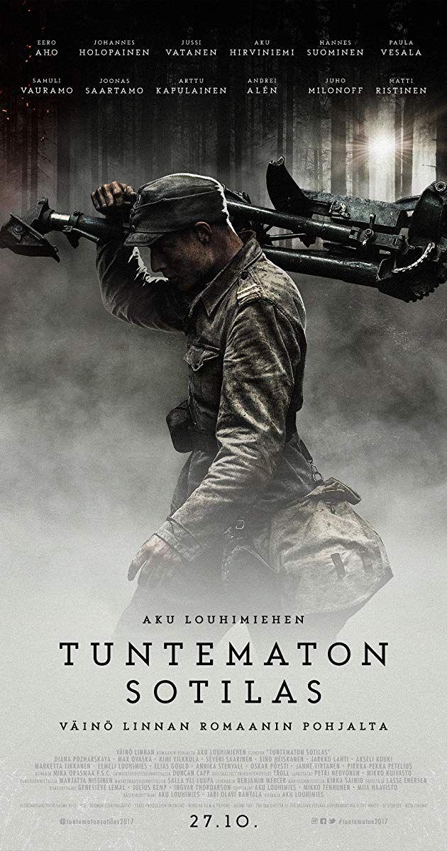 Pin by Nina Hirvelä on Elokuvat in 2020 Unknown soldier