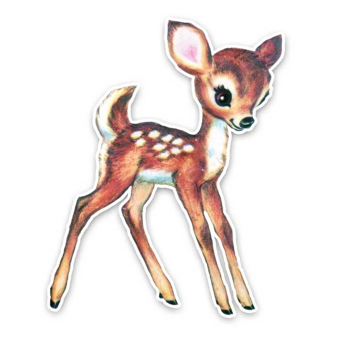 Fern the Fawn … | Deer sketch, Deer illustration, Animated ...