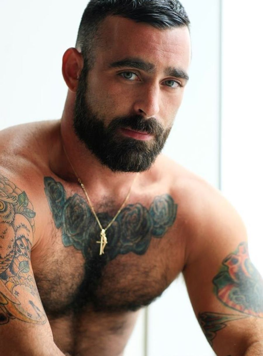 New web sites of hairy men