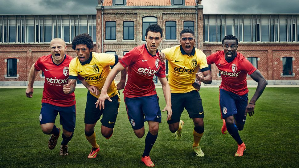 Nike Reveal Lille 2014/15 Kits SoccerBible Football