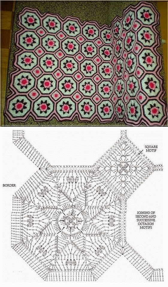 Granny Square Uncinetto Piastrella Uncinetto Per Coperta Coperte