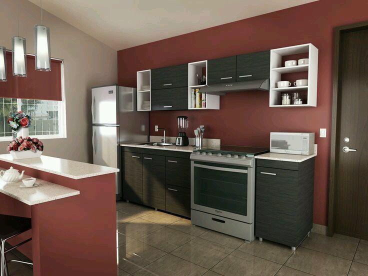 Colores De Pintura Para Cocinas Modernas. Simple Salas Modernas Para ...