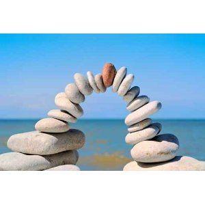 Leinwandbild Wellness Stones - 90*60 cm: Amazon.de: Küche & Haushalt