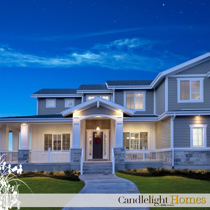 Candlelight Apartments: This Craftsman Style Home Is Simply Gorgeous. At