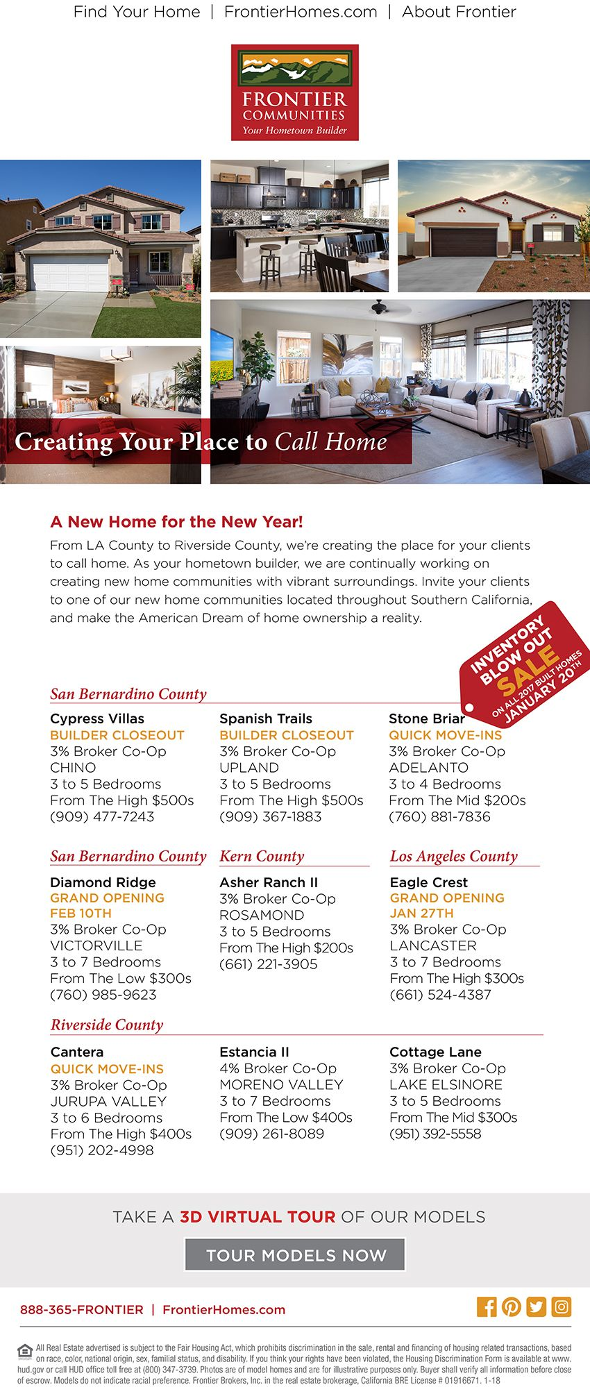 New Homes For Sale In The Southern California Up To 4 Co Op On