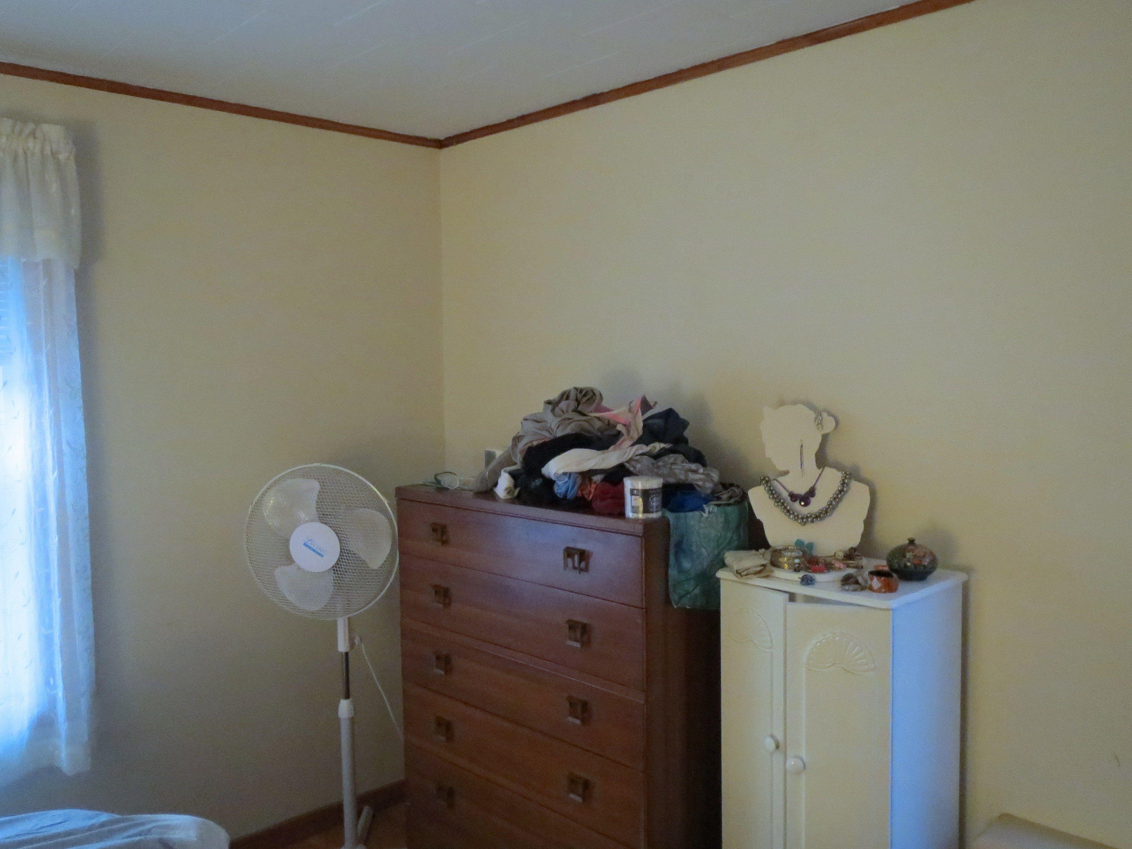 Bedroom before -- Plaster & Disaster
