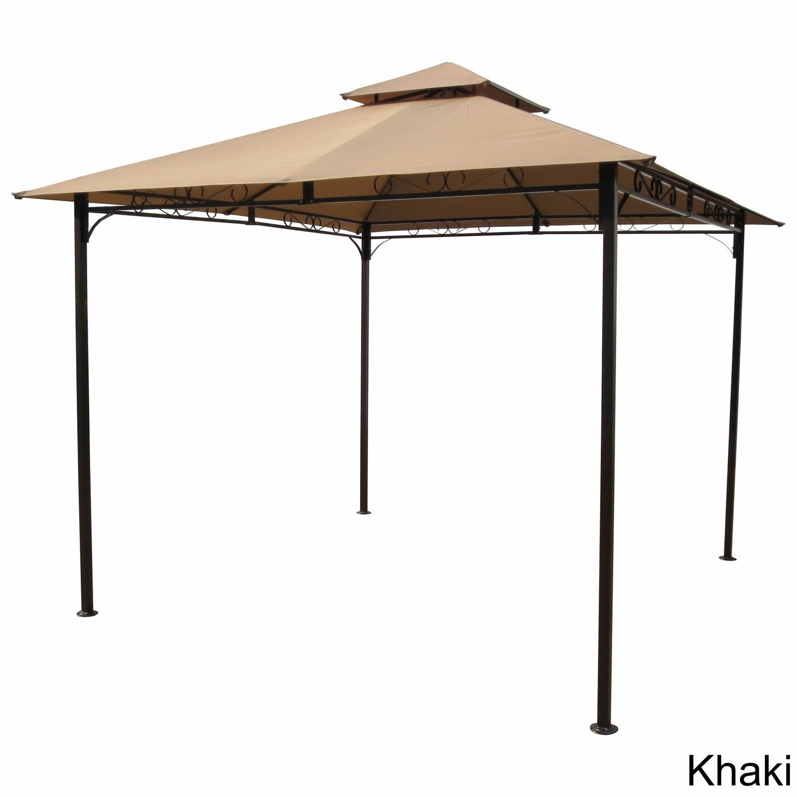 Details about Outdoor Canopy Tent Gazebo Pagoda Shelter Patio Yard Garden Party Shade Steel  sc 1 st  Pinterest & Details about Outdoor Canopy Tent Gazebo Pagoda Shelter Patio Yard ...