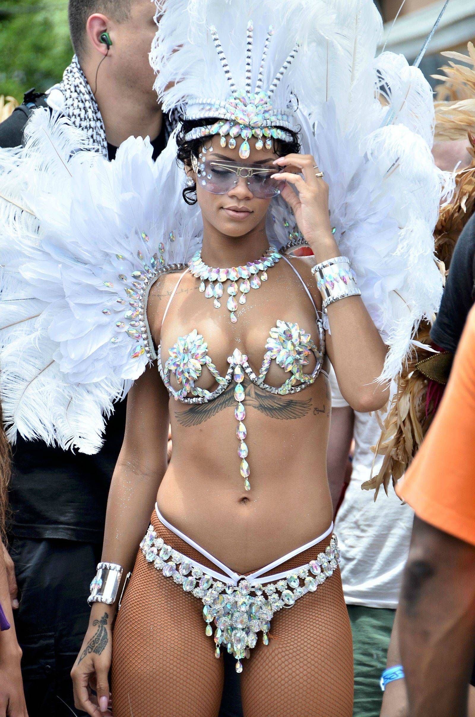 Confirm. happens. rihanna nude brazil was specially