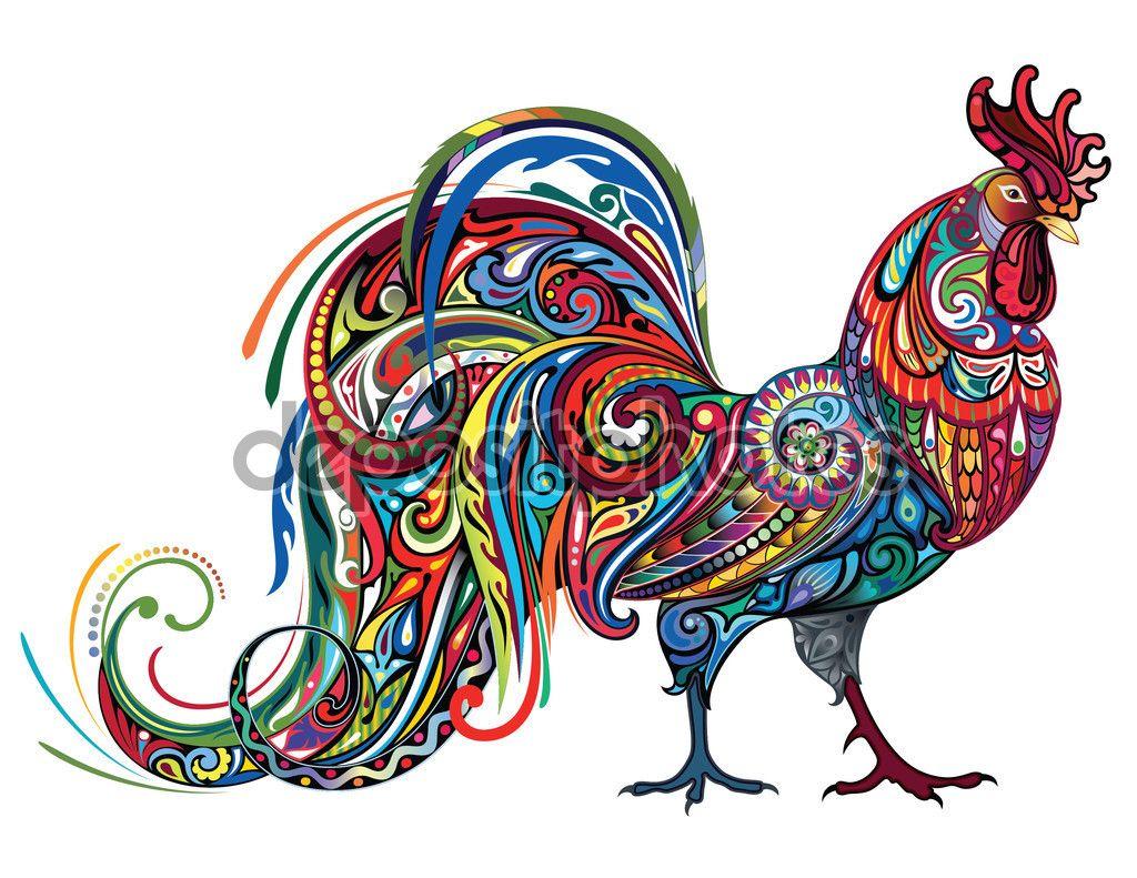 Descargar - Animal de granja de pollo — Ilustración de Stock ...