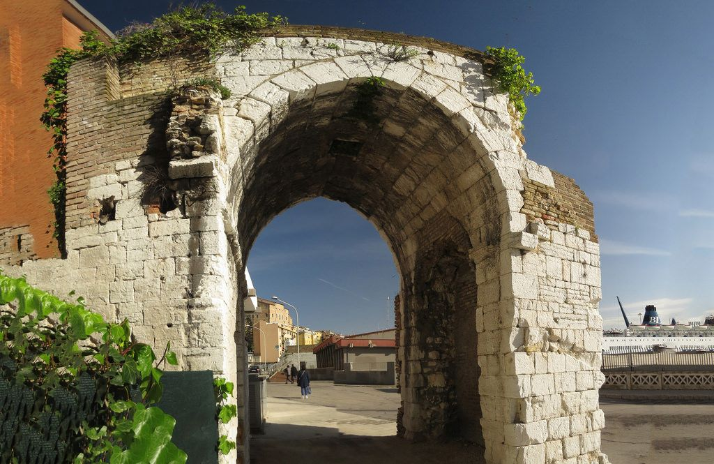Ancona, Marche, Italy - Arco Medievale -stitch-by Gianni Del Bufalo CC BY-NC-SA