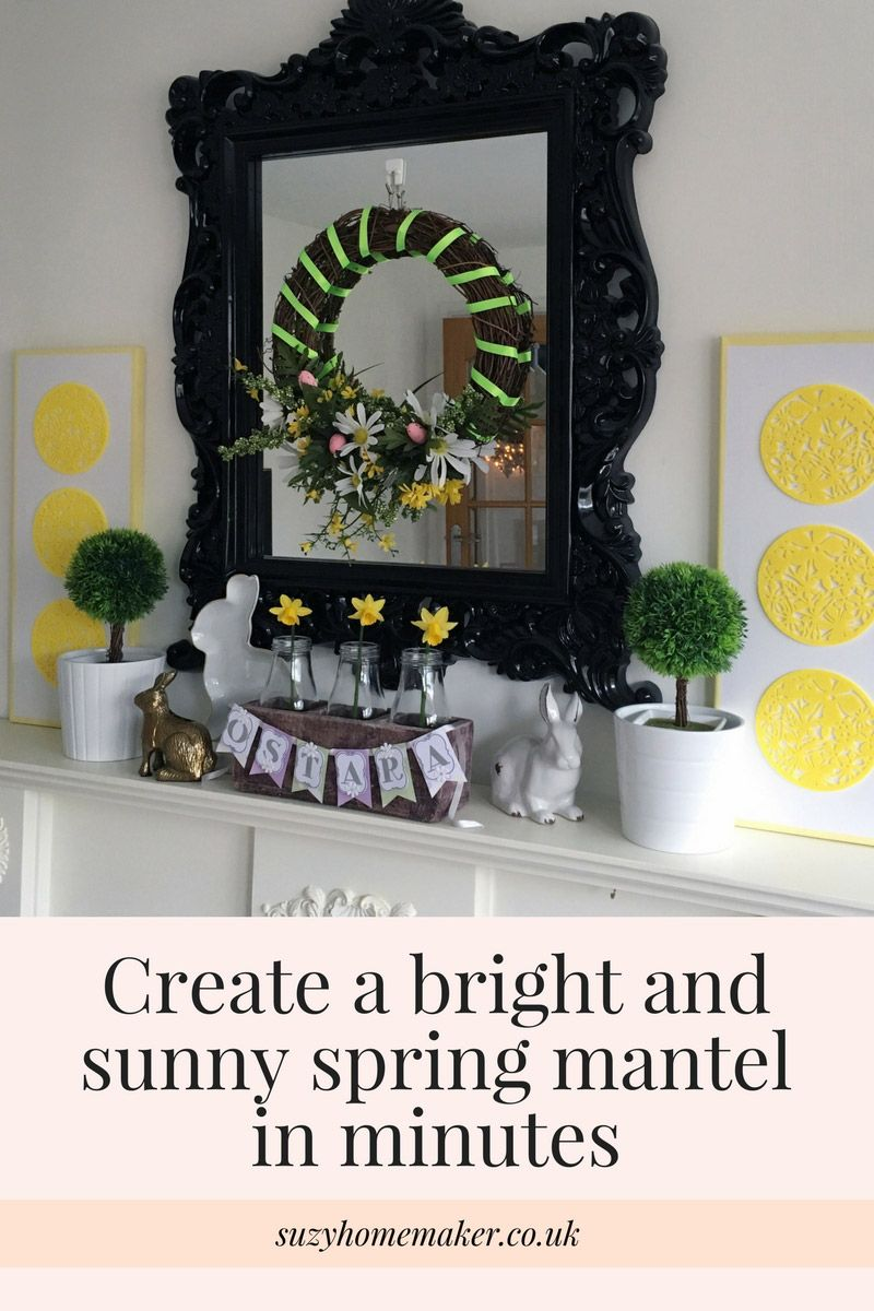 A New Mantel For Early Spring