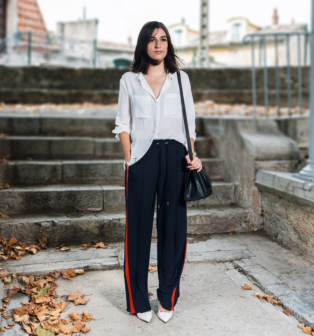 How to wear track pants fashionable