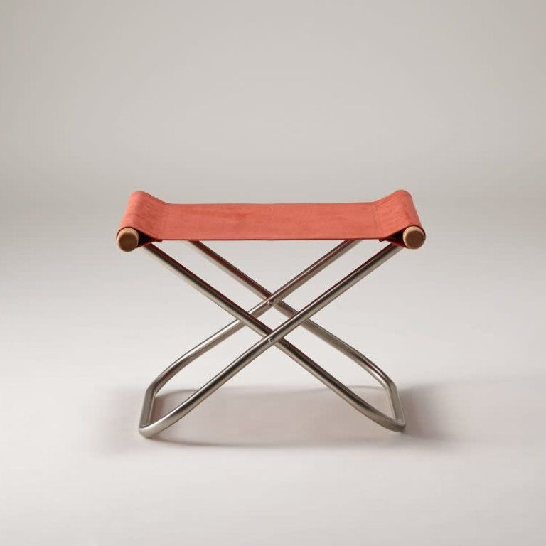 Nychair X Ottoman Japanese Ottoman Folding Stool And Foot Rest In 2020 Folding Stool Stool Ottoman