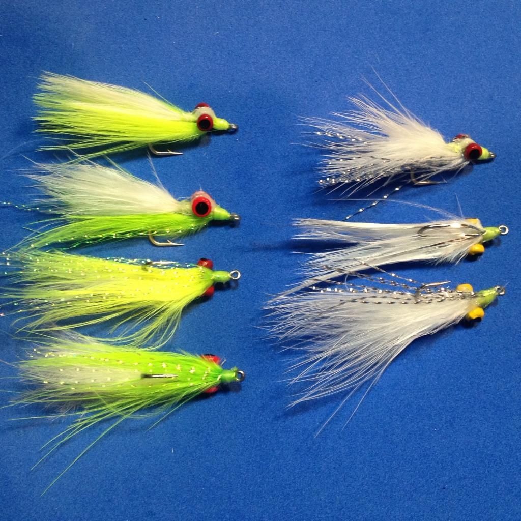 "Crappie /""Fly/"" Jigs white bass smallmouth jigs flies Chartreuse ICE...crappie"