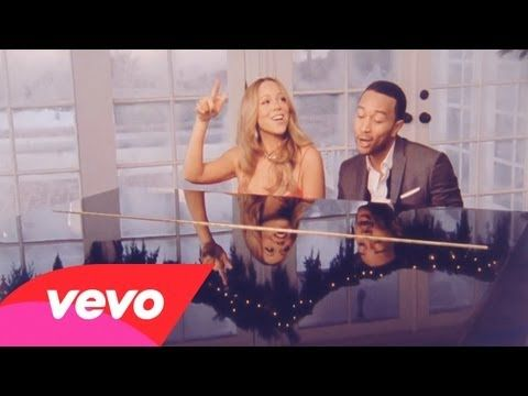 Mariah Carey, John Legend - When Christmas Comes (+playlist) (With images)   Christmas songs ...
