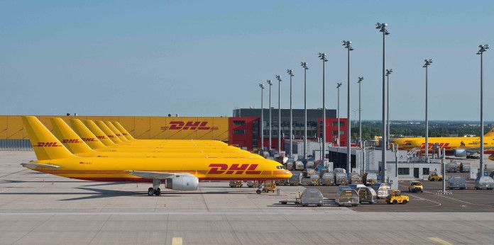 DHL Boeing 757 freighters at Leipzig/Halle Airport | DHL