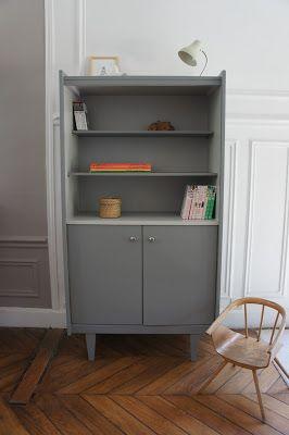 atelier petit toit la biblioth que vintage de nomino b torfel j t s pinterest. Black Bedroom Furniture Sets. Home Design Ideas