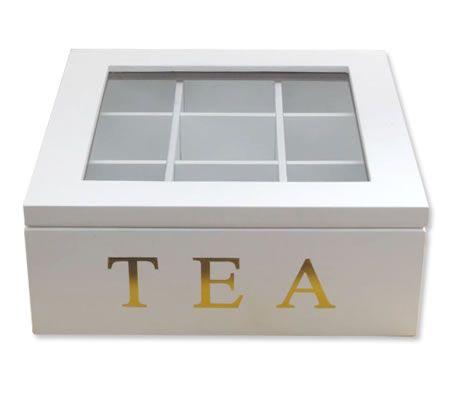 Wooden Tea Storage Box
