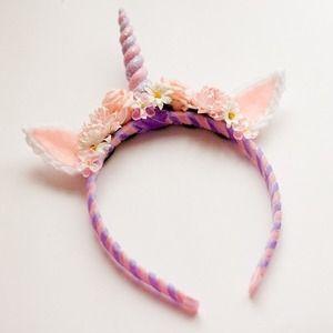4052466cdc451 Deluxe Unicorn Headband (I NEED this!)