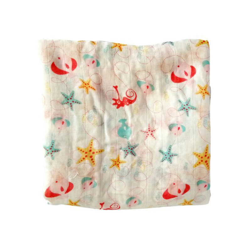Baby Bamboo Fiber Blankets Fruit Color