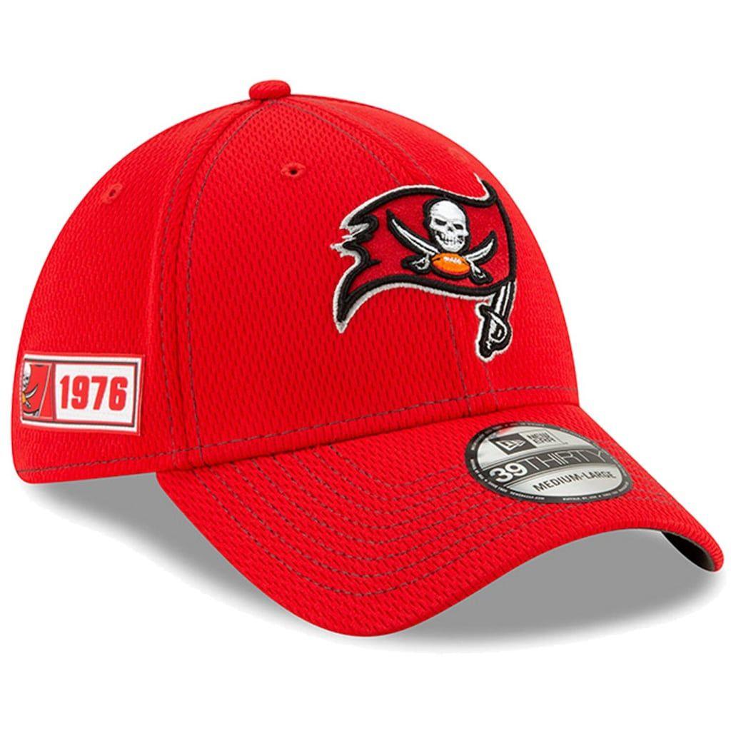 Men's New Era Red Tampa Bay Buccaneers 2019 NFL Sideline