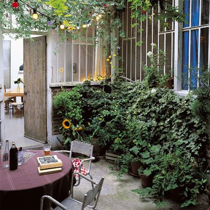 Algunas ideas para jardines peque os patios and gardens for Como decorar mi jardin con plantas