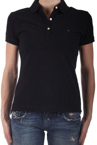 c63333e8 Tommy Hilfiger Women Classic Fit Logo Polo T-Shirt - List price: $65.00  Price: $24.99 Saving: $40.01 (62%)