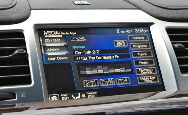 Ford Npr Ford Sync News Apps Car
