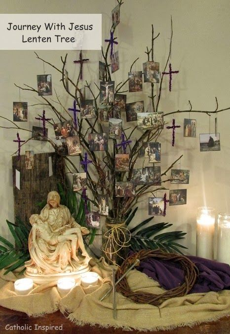Journey with jesus ebooks and lenten activities for Lent decorations for home