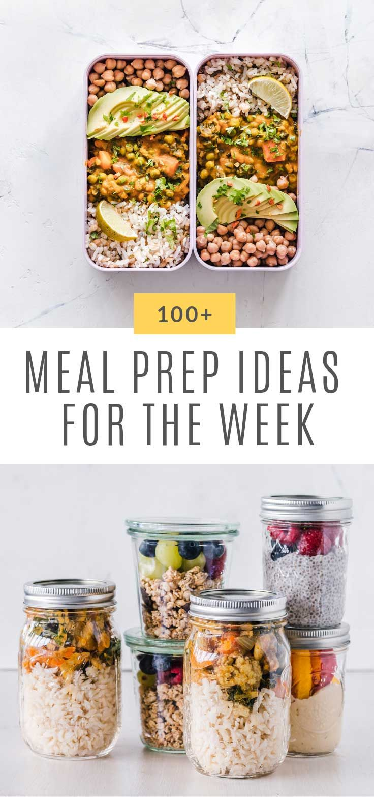 Photo of 50 Easy Meal Prep Ideas for the Week Families will Love