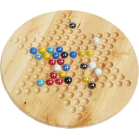 Classic Games Collection Chinese Checkers With Marbles Walmart Com Classic Games Chinese Checkers Chinese Checkers Game